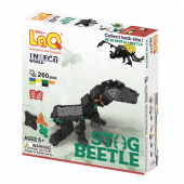 LAQ INSECT WORLD STAG BEETLE  Конструктор, 260 деталей